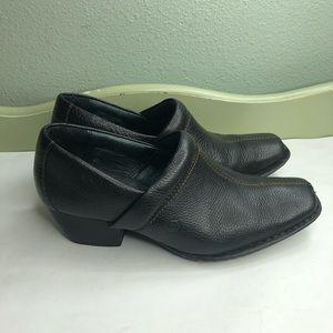 Born shoes clogs heels women size 8.5M/W black